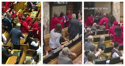 8 candid reactions to recent chaotic Parliamentary fist fight
