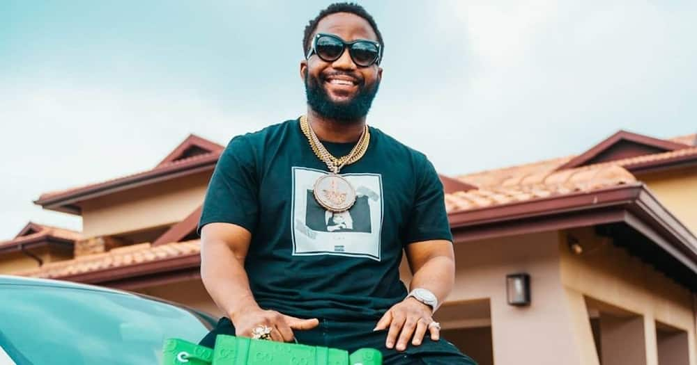 Cassper Nyovest's hilarious response to video of 'booty', SA reacts