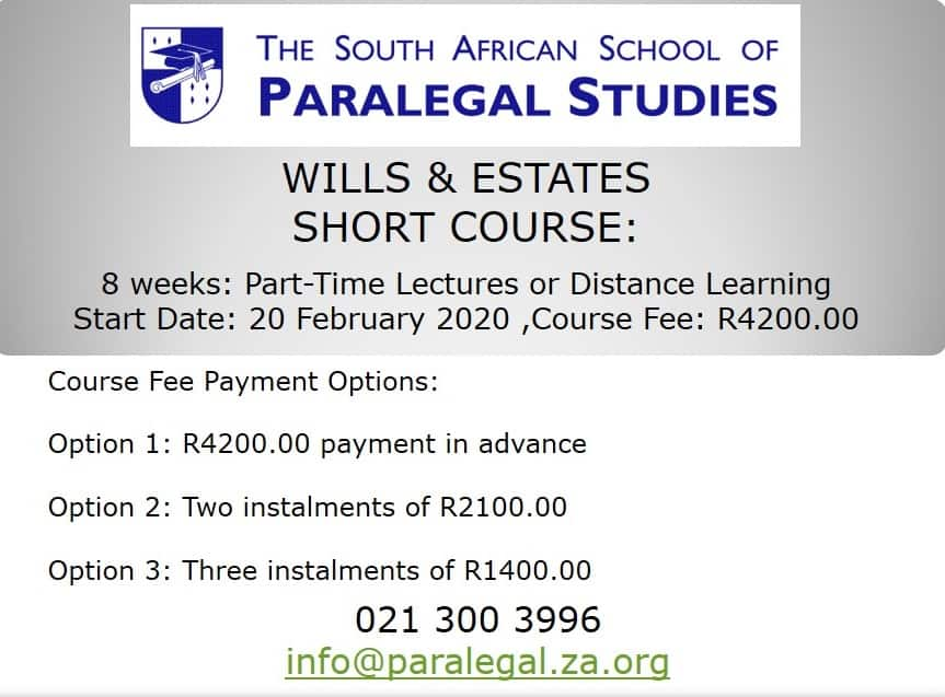 School for paralegal practice