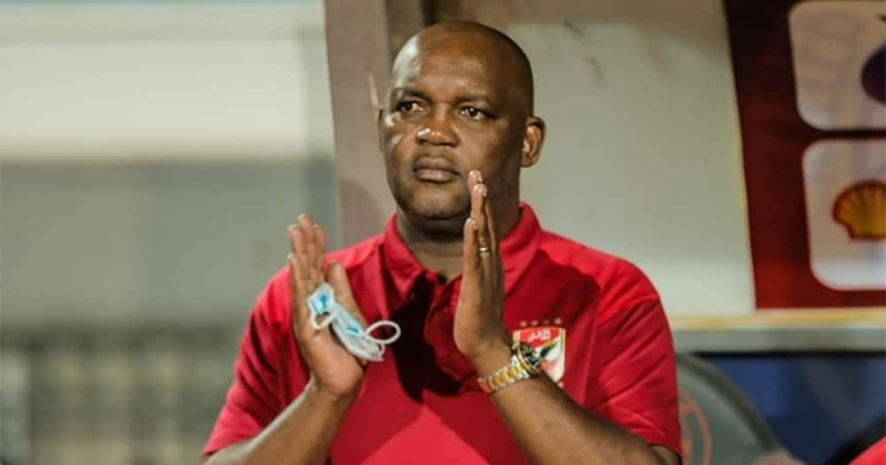 Al Ahly coach Pitso Mosimane says Mamelodi Sundowns are a strong team ahead of their visit to South Africa. Image: @TheRealPitsoMosimane/Twitter