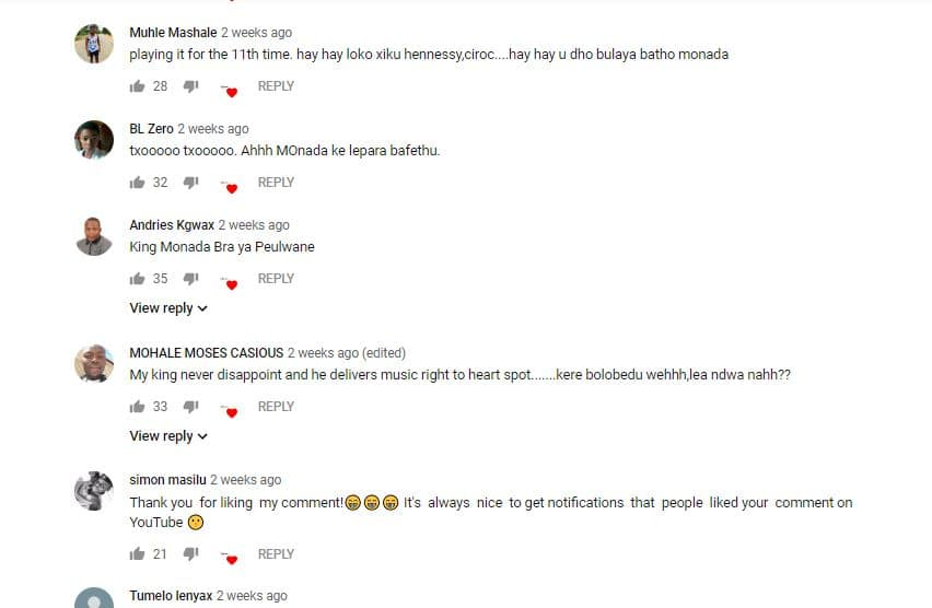 Tshego ft King Monada- No Ties trending fan video, lyrics and public reaction