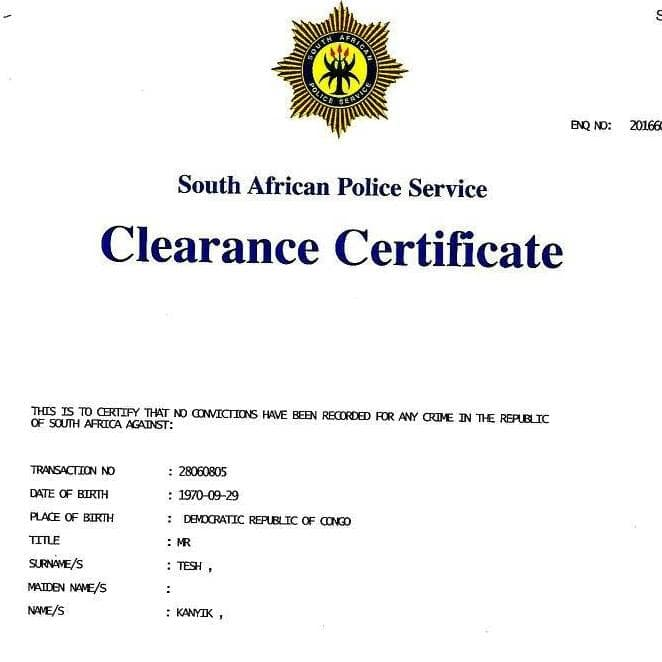 All About The Online Criminal Record Check In South Africa Using An Id