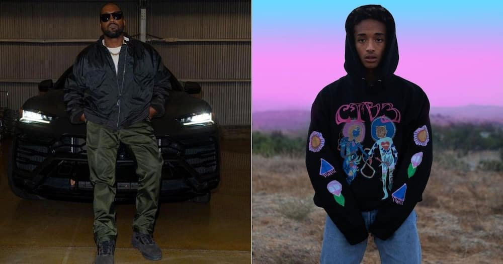"""Kanye West gives Jaden Smith shout-out: """"I'm so proud of this man"""""""