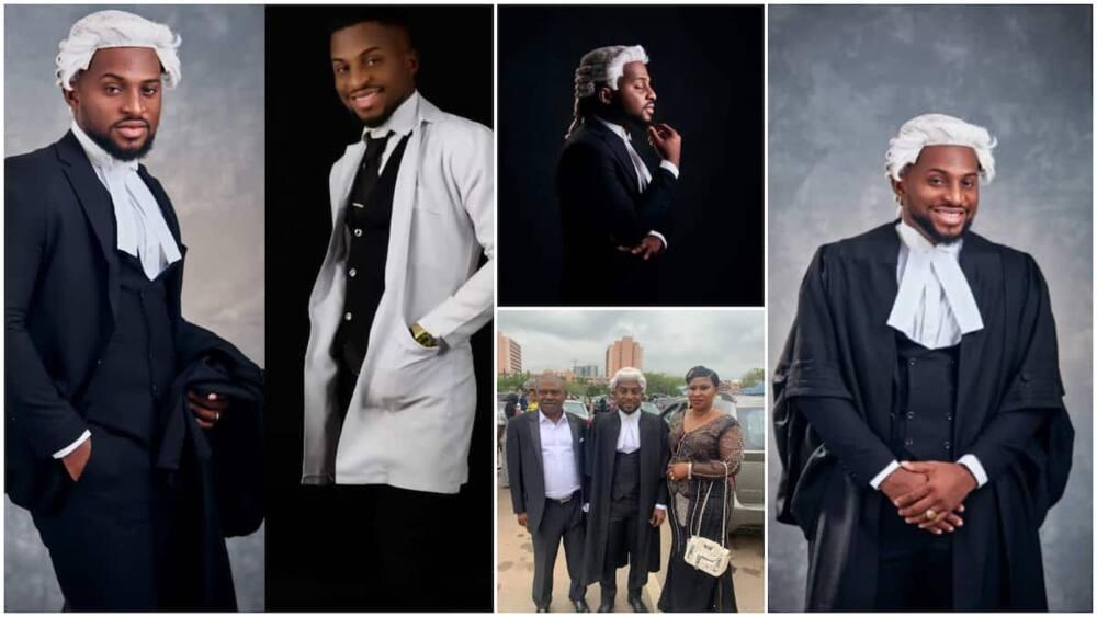 Obinna, Graduates, University, Celebrates