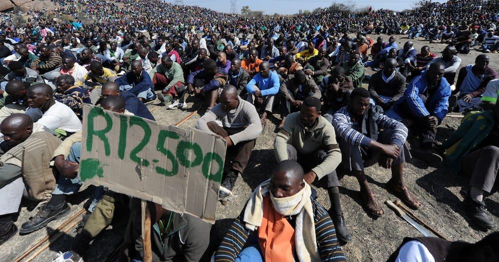 Marikana massacre, South Africa Police Services, 34 mineworkers killed, wage increase, R12 500, North West, Marikana