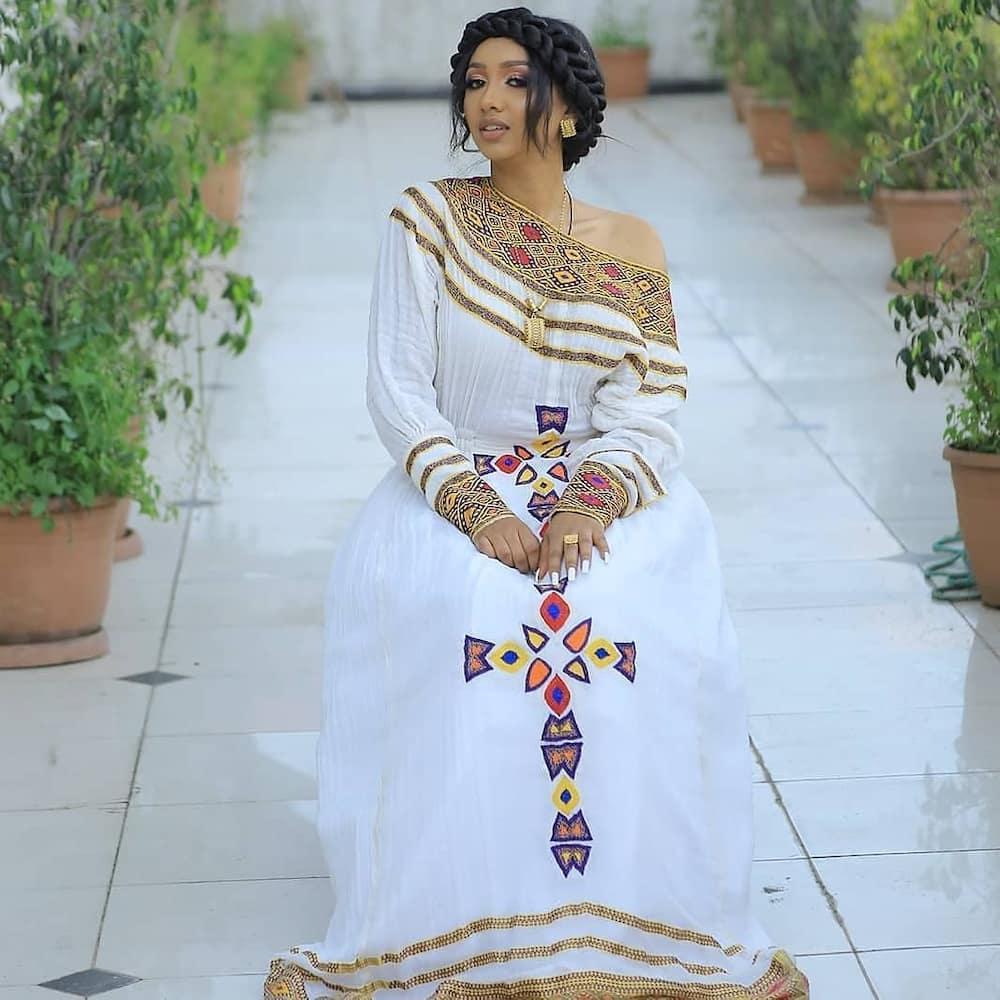 Habesha wedding attire Ethiopia and Eritrea