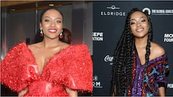 Out and about in Hollywood: Nomzamo Mbatha lives American Dream