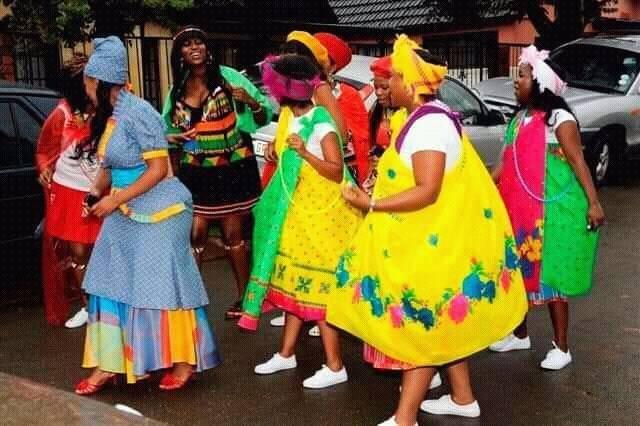Zulu traditional dance