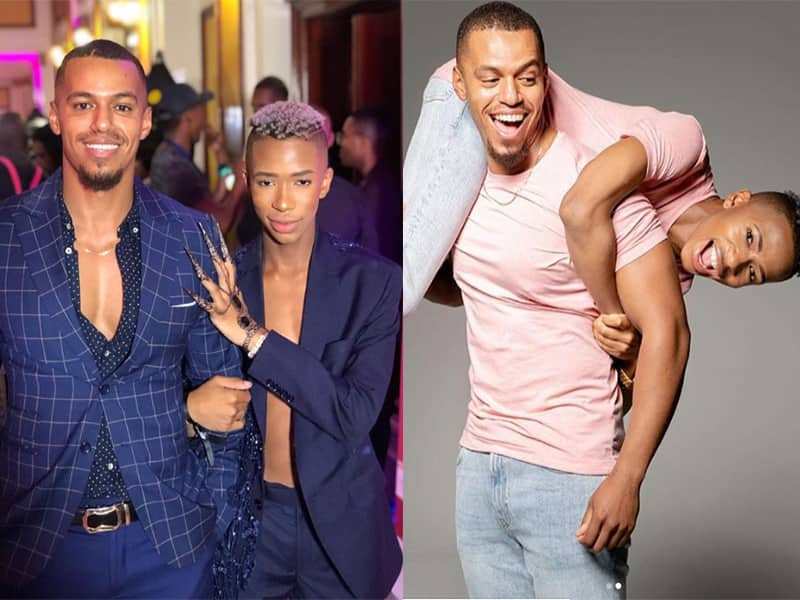 Cedric Fourie relationship with Lasizwe