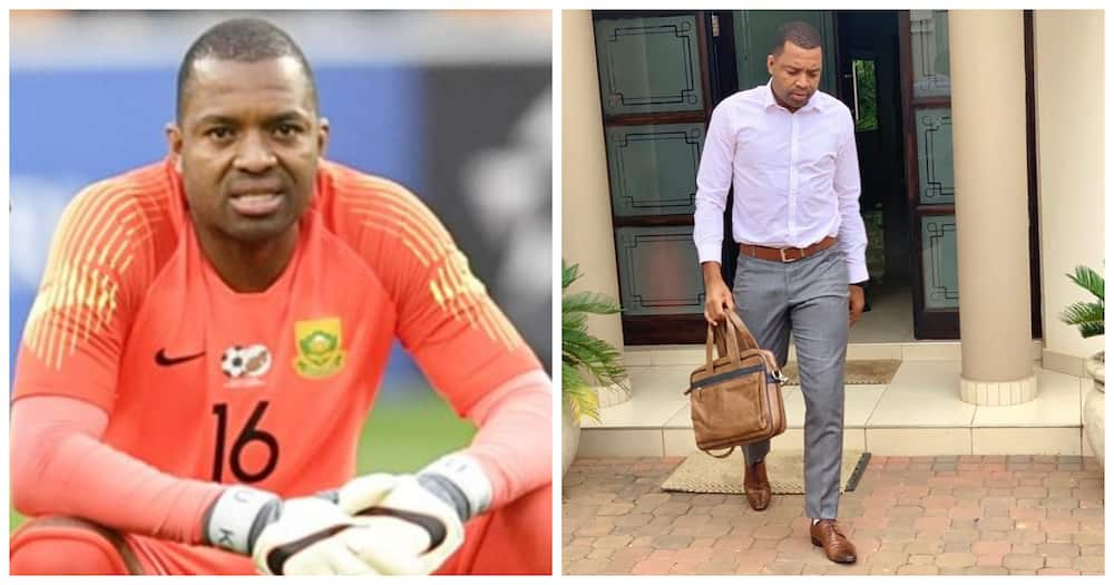 Itumeleng Khune says not everyone will understand your journey and people should keep moving forward. Image: Instagram itukhune32