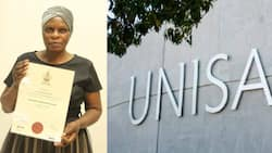 'I was tired of working as a cleaner': 64-year-old gogo celebrates graduating university