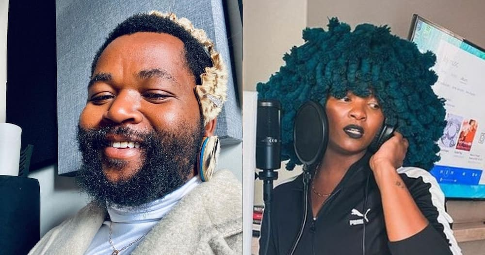Sjava Shows Love to Moonchild Sanelly, Says She's 'very Special'