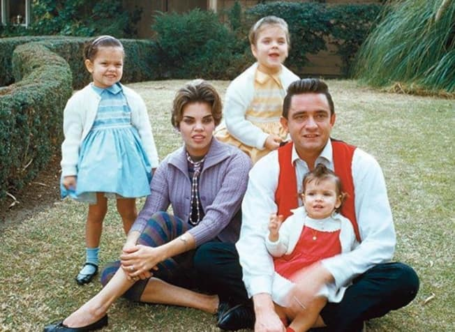 Johnny Cash famous first wife