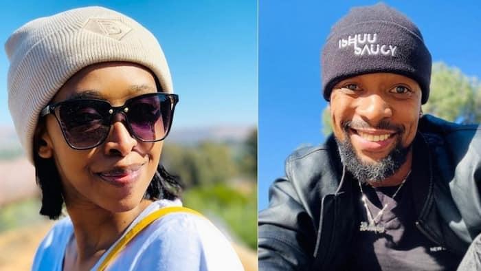 SK Khoza's fiancée Ayanda Hlongwane posts snaps not wearing her engagement ring