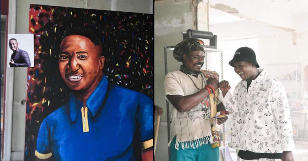 'Whose Grandma Is This?': Rasta Paints Ridiculous Portrait of DJ Shimza