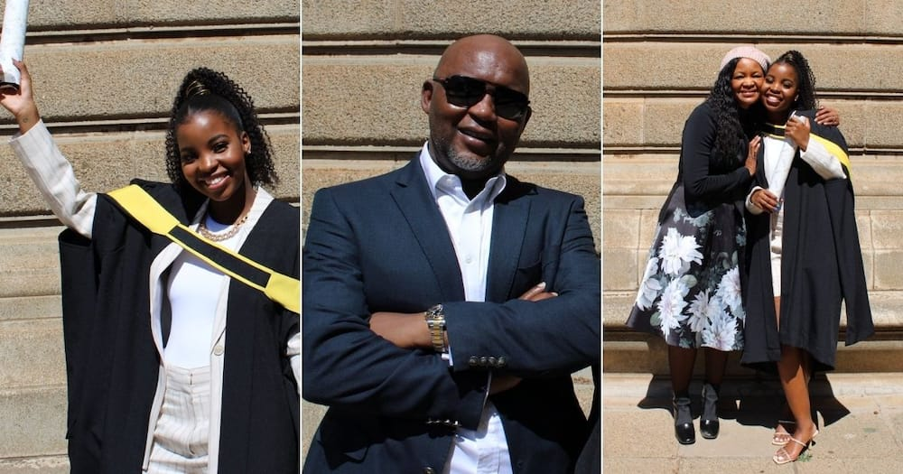 Africa, Delights, Pitso Mosimane, Daughter, Graduates, Wits University