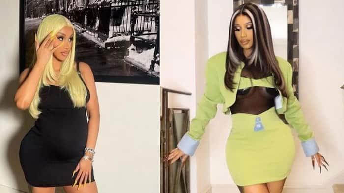 Fashion killa: Cardi B trends after rocking posh outfit at Paris Fashion Week