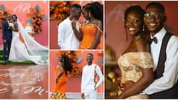Lady weds photographer she met at her friend's birthday party in 2016, wedding photos go viral
