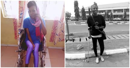 From wheelchair to walking: lady inspires with progress after accident