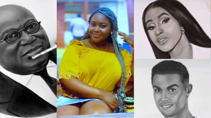 Artist creates photocopy pencil portraits in just 1 minute, videos go viral