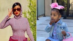 Cardi B buys her 3 year old daughter Kulture a high end handbag with a R710k price tag
