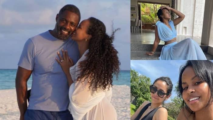 Idris Elba's enchanting wife Sabrina Dhowre visits Kilifi for relaxing vacay