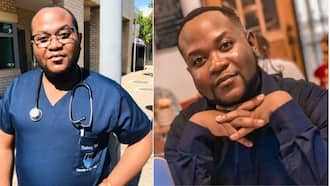 """""""Felicidades"""": Mzansi delighted for 'tired med student' celebrating end of clinical exams"""