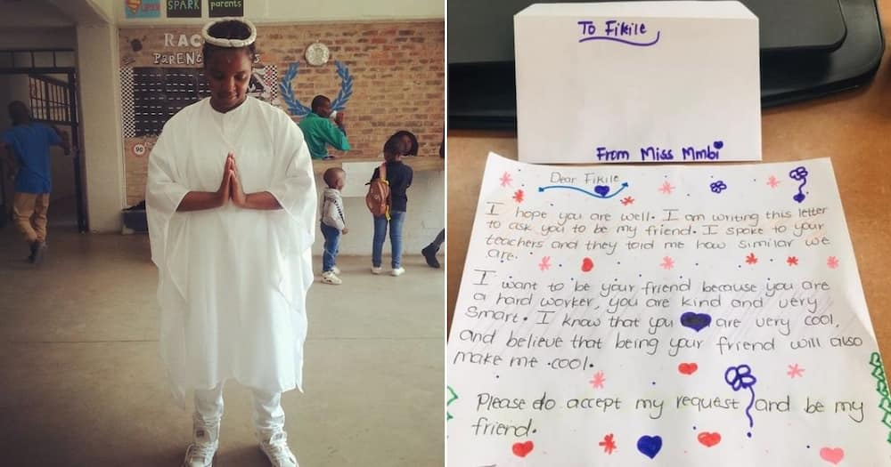 Principal pens sweet letter to girl whose BFF request was rejected