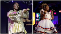 Yaas queen: Lady Zamar shows off snatched body and killa legs