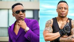 LOL: DJ Tira leaves fans amused after allegedly 'holding up' a whole plane