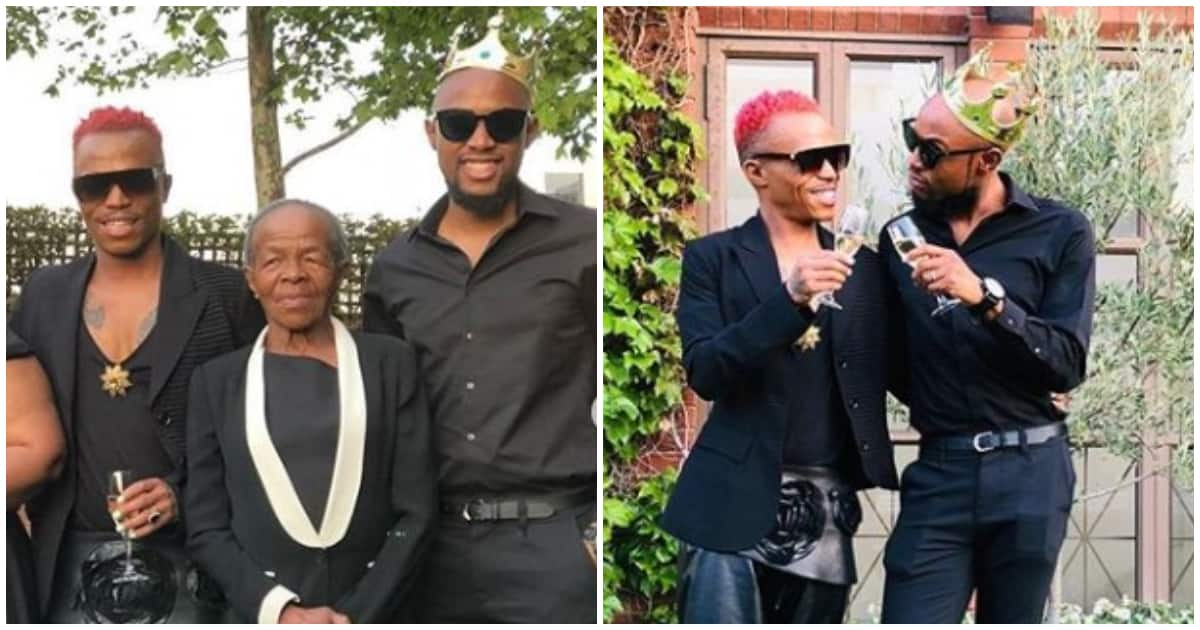 A peek inside Somizi and Mohale's engagement dinner