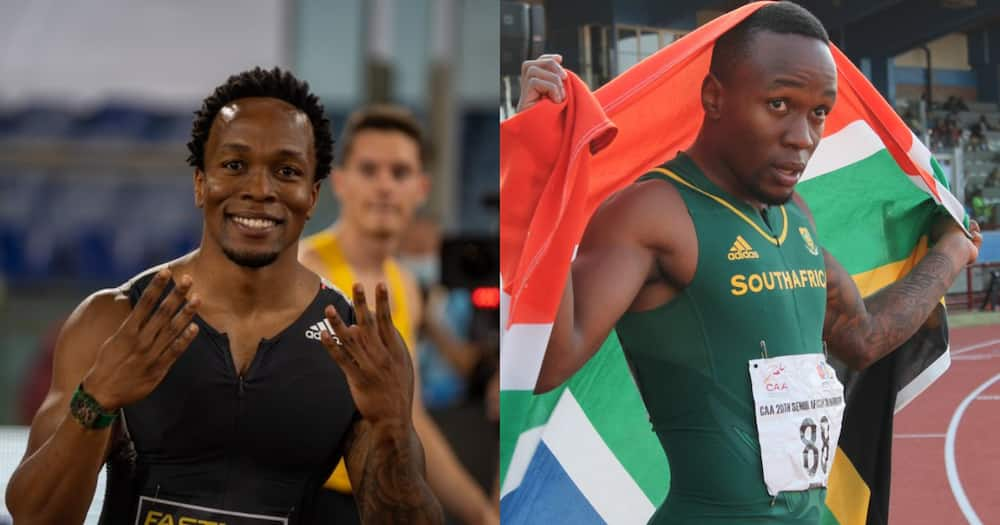 SA sprinter Akani Simbine wins Rome race in under 10 seconds