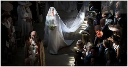 Pic of Meghan Markle walking down aisle named 2018 best royal photo