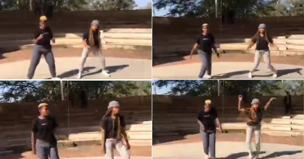 Young Women's Lit Dance Moves Impress Mzansi, SA Wants to Learn Too