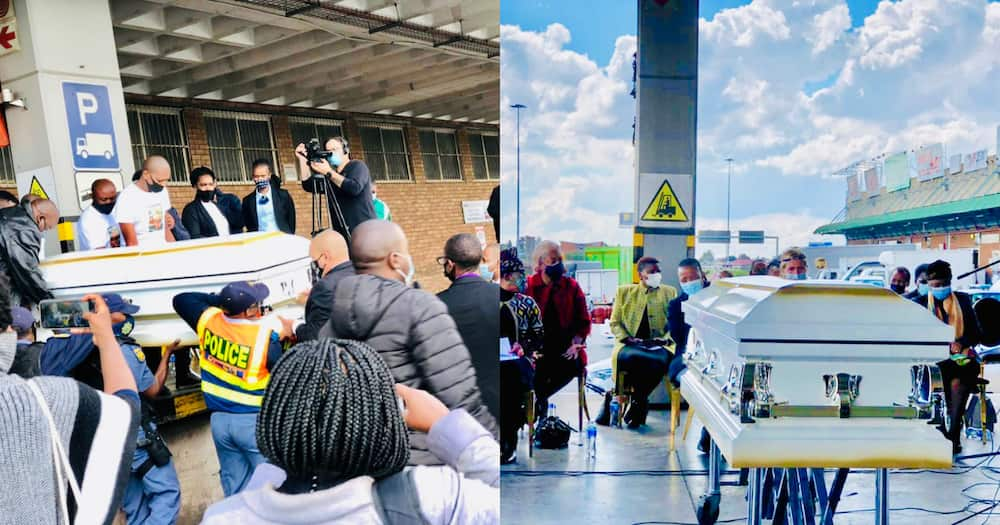 Lindani Myeni: South African's Remains Return Home to Be Buried