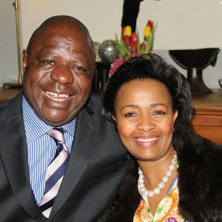Wendy Luhabe husband