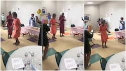 Gogo, 91, shows off dance moves on her birthday, fave song has people touched