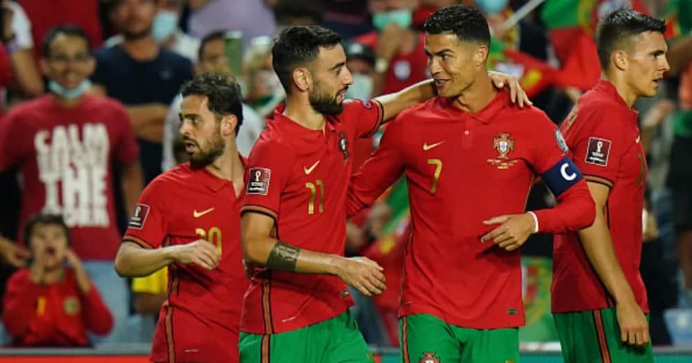 Bruno Fernandes, Portugal, Cristiano Ronaldo