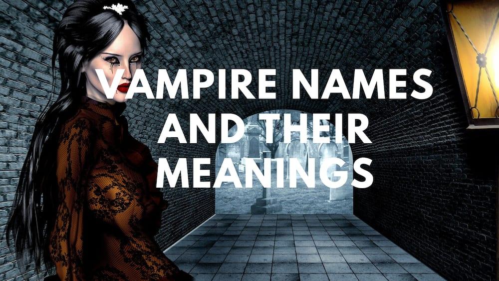 Names for vampires