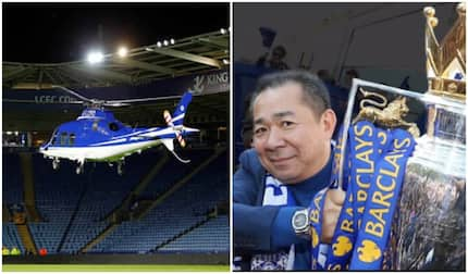 Leicester City owner Vichai Srivaddhanaprabha among the five dead in helicopter crash