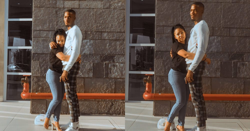 Man shows off bae, Mzansi can only focus on their height difference