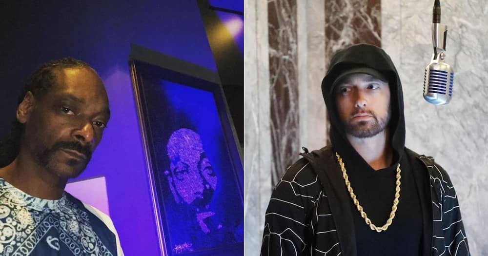 Snoop Reveals Eminem Isn't in His Favourite Top 10 Rappers, Fans React