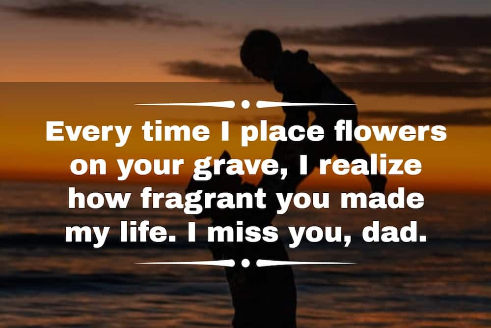 Emotional Father's Day wishes to deceased dad