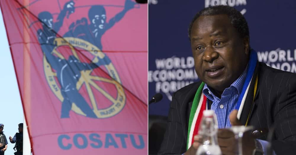 Cosatu, Finance Minister Tito Mboweni, Pension Fund Access Proposal, retirement fund, coronavirus pandemic, debt