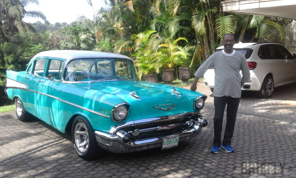 Anthony's cars turn heads: My classic vehicles are my pride and joy
