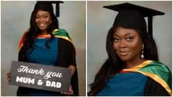 Lady bags PhD from Australian university, profusely rejoices