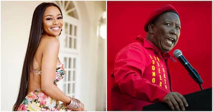 Tweep throws shade at those who mocked Juju for owing SARS but support Bonang