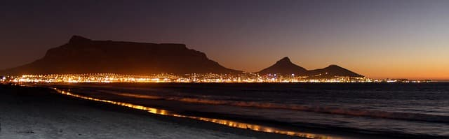 Table Mountain 2020 activities tickets prices national park location