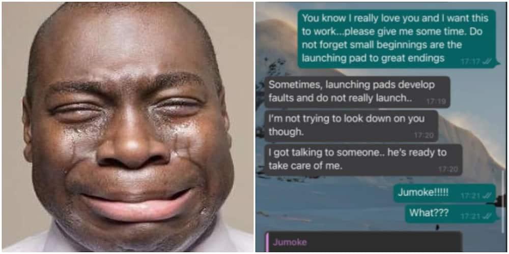 Nigerian lady trends on social media as she breaks up with her boyfriend