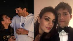 Ashton Kutcher and Mila Kunis only wash bits, pits and faces, bathing isn't a daily task